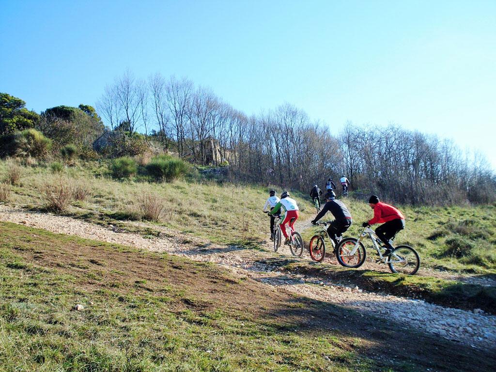 Mountain biking trails in the hills of Livorno – Oasi del Mare